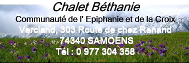 CHALET BETHANIE
